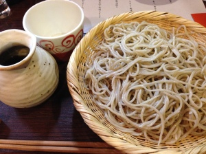 Delighful hand-made soba from Soba Mise no Ami